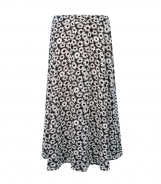 Daisy Print Three Panel Skirt