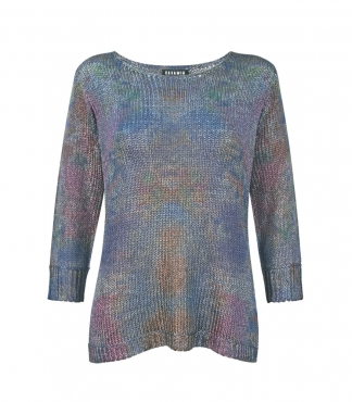 3/4 Sleeved Multicolour Jumper
