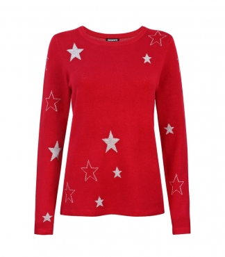 Scattered Star Pattern Jumper