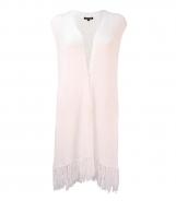 Sleeveless Long Length Waistcoat