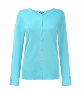 Button Through Cardigan with Tab and Button Detail Cuffs