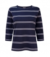 Striped Body and Sleeves Jumper