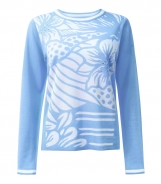 Jumper with Fancy Floral Panel Front