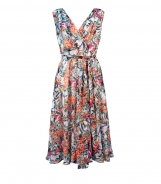 Dress with Elasticated Waist and Belt