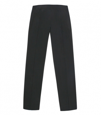 Straight Leg Trousers with Back Pockets