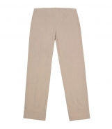 Straight Crop Fit Jegging Trousers