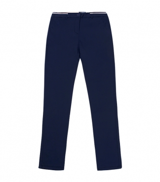Straight Trouser with Side Colour