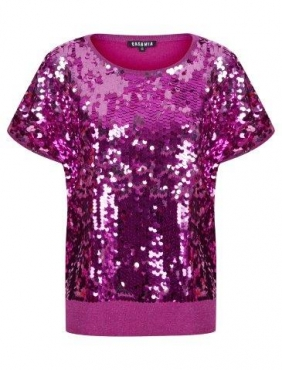 Sequin Front Top *PLUS SIZES AVAILABLE*