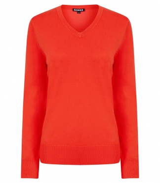 V-Neck Long Sleeved Jumper *plus sizes available*